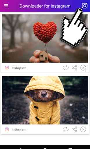 Baixar vídeos e Fotos do Instagram 1
