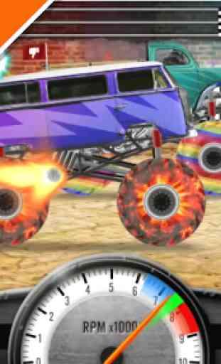 Racing Monster Trucks Grátis 2