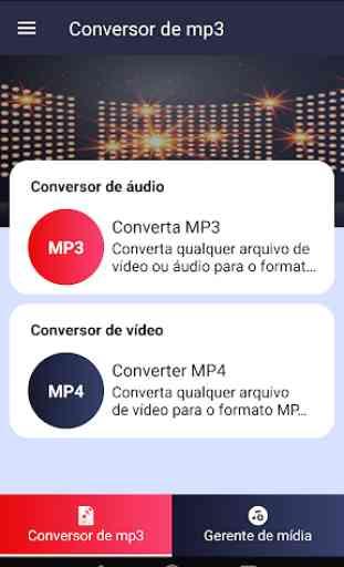 Conversor de MP3 - free Mp3 video converter 1