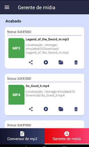 Conversor de MP3 - free Mp3 video converter 4