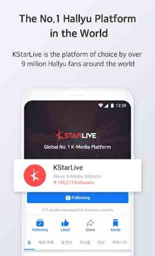 KStarLive - 케이스타라이브 K-Pop K-Drama Hallyu Community 2