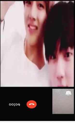 Bts Fake video call me 2
