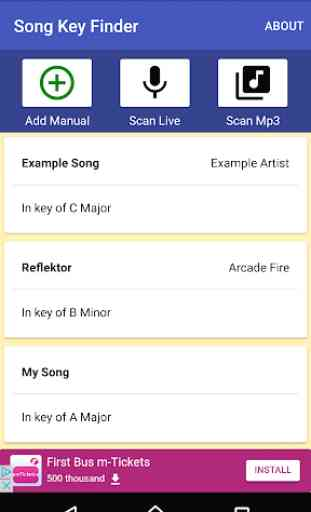 Song Key Finder 4