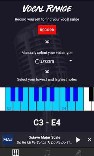 Vocalizer - Singing 4
