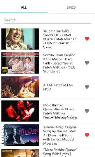 Top Nusrat Fateh Ali Khan Qawwali Songs 1