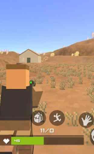 Grand Pixel Royale Battlegrounds Mobile Battle 3D 1