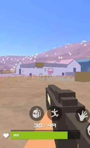 Grand Pixel Royale Battlegrounds Mobile Battle 3D 3