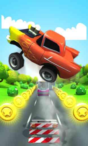 Car Run Racing  2