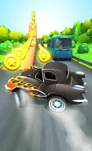 Car Run Racing  3