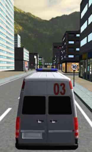 Conduzir Carro De Polícia Sim 2