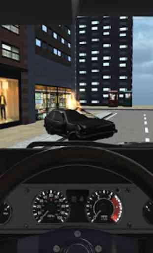 Conduzir Carro De Polícia Sim 3