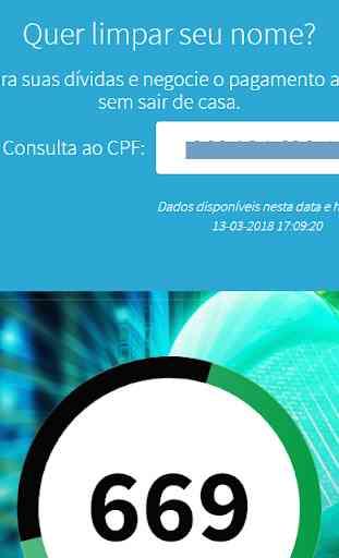 Consultar CPF e CERASA de Graça 3