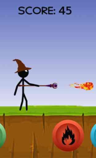 Stickman Wizard 1