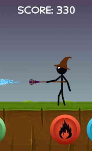 Stickman Wizard 4