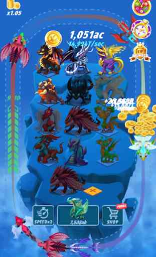 Dragons: Miracle Collection - Idle Game 1