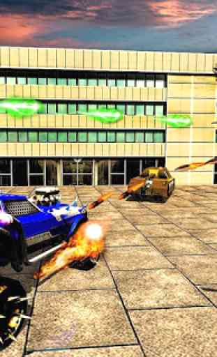 US Police Robot War Multi Robot Transformation 1