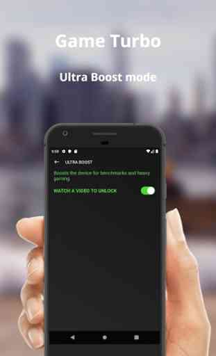Game Booster 4x Faster Free - GFX Tool Bug Lag Fix 3