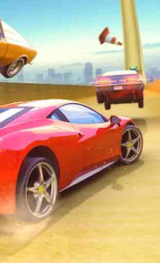 Impossível GT Car Transformation Racing Stunts 2