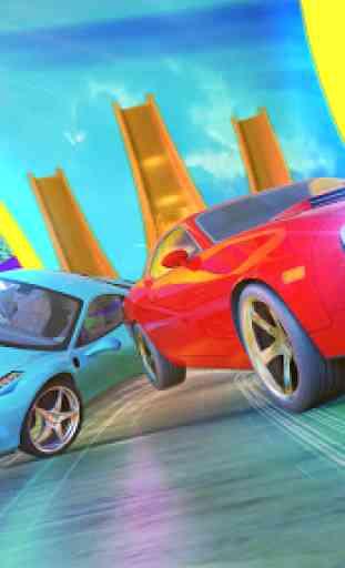 Impossível GT Car Transformation Racing Stunts 4