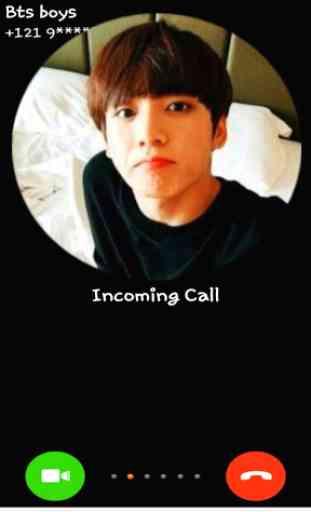 jungkook : Bts Fake call you 2