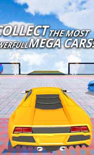 Mega Rampa Carro Façanha Jogos - Impossível Carro 3