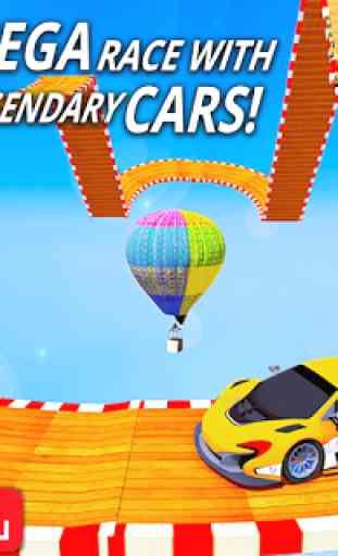 Mega Rampa Carro Façanha Jogos - Impossível Carro 4