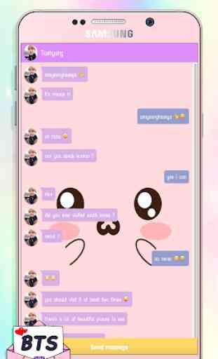 BTS Messenger! Chat Simulation 2
