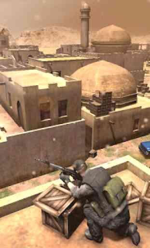 Call Of Cover Shooter: Ataque de Sniper Exército 4