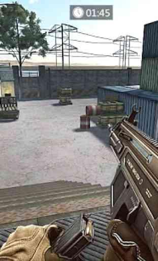 Frontline Counter Terrorist Shoot Mission 1