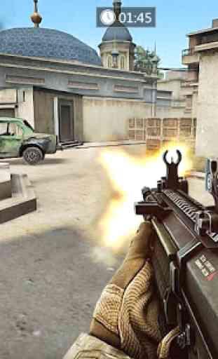 Frontline Counter Terrorist Shoot Mission 3