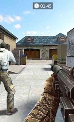Frontline Counter Terrorist Shoot Mission 4