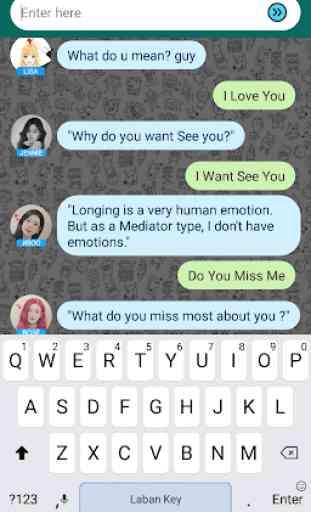 BlackPinK Messenger Chat Prank 3