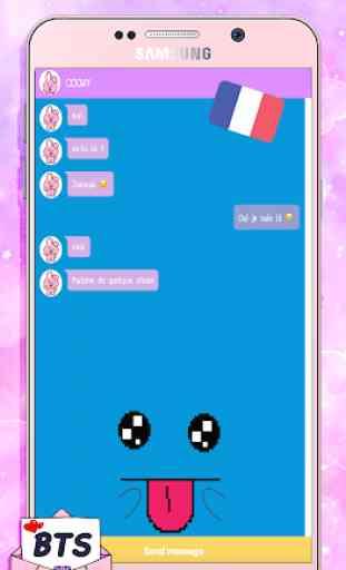 BT21 Bts Chat Simulator ! 2