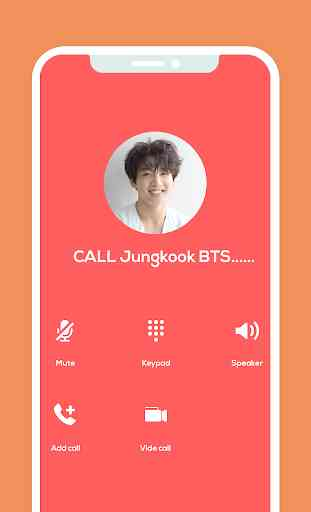 BTS fake messenger - BTS fake video call 1