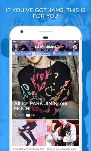 Jimin Amino for BTS Park Jimin 1
