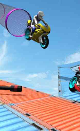 Bike Stunt 2020 - Free Motorcycle Games 3