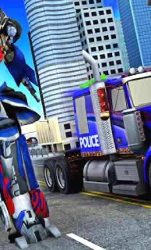 Police Robot Truck 1