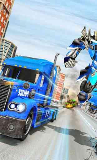 Police Robot Truck 4