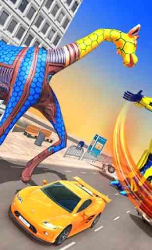 Giraffe Robot Transformation Shooting 4