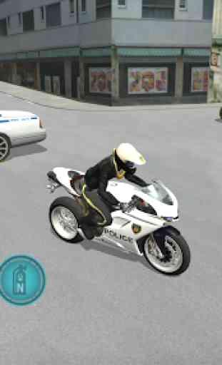 Police Motorbike Driving Simulator 4