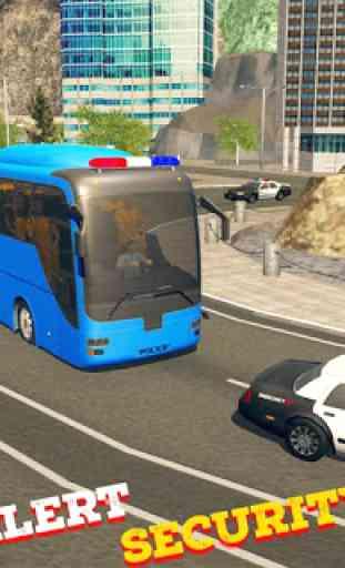 cidade polícia simulador de autocarro 2019 1