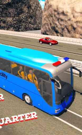 cidade polícia simulador de autocarro 2019 3
