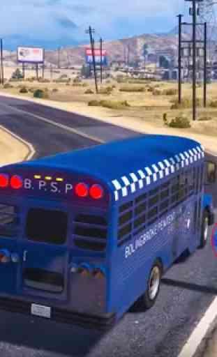 cidade polícia simulador de autocarro 2019 4