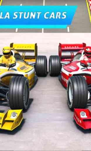 Fórmula carro acrobacias corrida: rampa carro 4