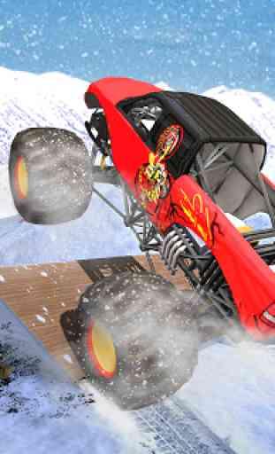 Mega Rampa Monster Truck Jogos de Corrida 4