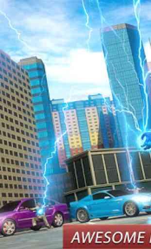 grande robô Rapidez herói: crime cidade gangstar 3
