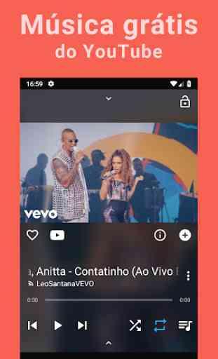 Baixar músicas grátis; YouTube Músicas Player; MP3 1