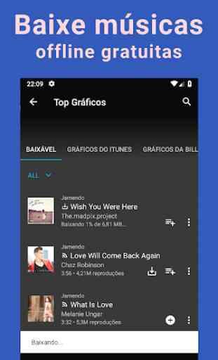 Baixar músicas grátis; YouTube Músicas Player; MP3 2