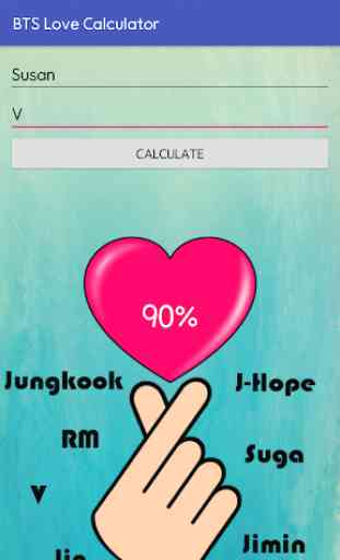 BTS Love Calculator 4