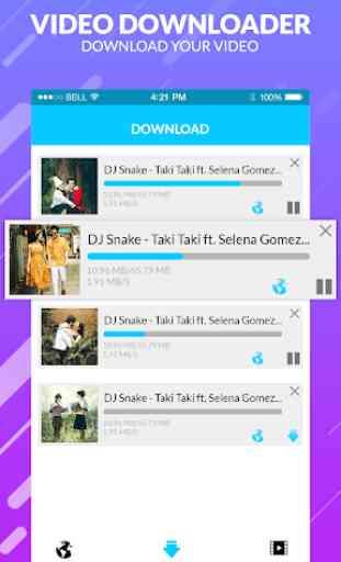 mp4 video downloader - free video downloader 3